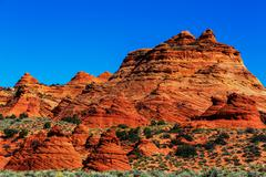 utah landscapes - stock photo