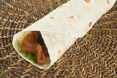 Cigkofte / Turkish Food - stock photo