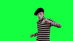 The mime shows thumb down - stock footage