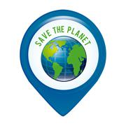 Stock Illustration of save the planet , vector illustration eps10 graphic
