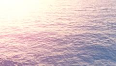 Ocean Waves Ship View Infinity Unknown Search Inspiration Depth Golden Sunlight Stock Footage