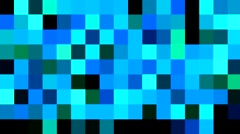 Square Flash Color Loop Background Stock Footage