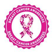 Stock Illustration of breast cancer design, vector illustration eps10 graphic