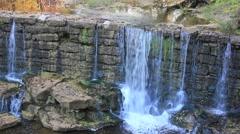 Autumn Waterfall No.2 Stock Footage