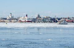 Helsinki winter Stock Photos
