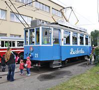 Tram Barborka Stock Photos