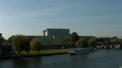 Bundeskanzleramt / Kanzleramt / Chancellery Berlin Stock Footage