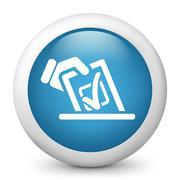 Vote concept icon - stock illustration
