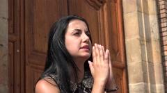 Prayer, Praying, Pray, Religion, Spirituality - stock footage