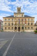 Stock Photo of town hall weimar in germany, unesco world heritage site