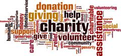 Charity word cloud Piirros