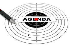 agenda - stock illustration