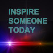 Stock Illustration of inspire someone today