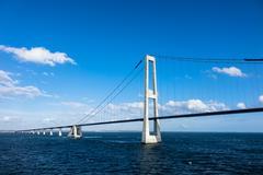 oeresund bridge - stock photo
