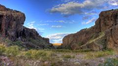 Box canyon socorro nm Stock Footage
