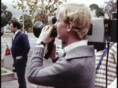 Media/News Gathering Cameras and Operators - stock footage