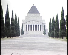 Melbourne City Landmarks (Archive Footage) Stock Footage