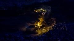 Coal strip mine siberia Stock Footage