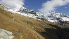 Mountain Time Lapse - Vanoise National Park - French Alps Stock Footage
