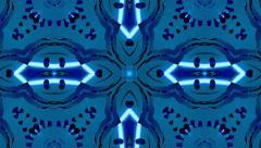 Animated background kaleidoscope Stock Footage