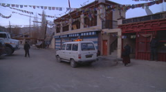 Alchi Village in Ladakh, India (Jammu and Kashmir). Stock Footage