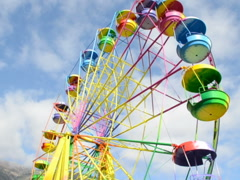 Beautiful wheel. Related clips are in my portfolio in 1920x1080. Stock Footage
