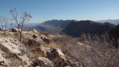 Mountainous Terrain in Kurdistan Stock Footage