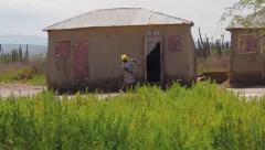 Haitian Home Stock Footage