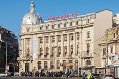 The Bucharest University of Economic Studies - stock photo