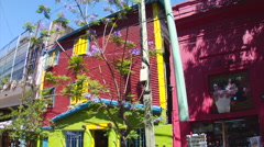 Buenos Aires - Boca Street Scene 19 Stock Footage