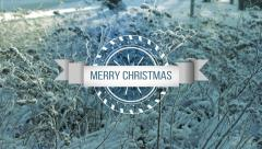 Merry Christmas. Stock Footage