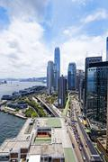 Stock Photo of hong kong city day
