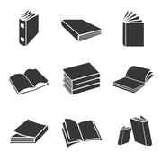 Book icons Piirros