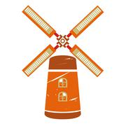 Wind mill Piirros
