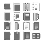 Stock Illustration of document icons