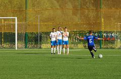 Stock Photo of kemryugova snejana (6), strike the penalty