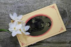 Classic Civil War portraits, always yours - stock photo