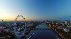 London aerial Stock Footage