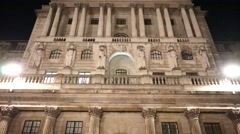 The bank of england Stock Footage