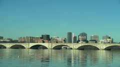 Arlington Memorial Bridge Stock Footage