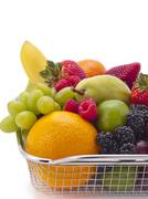 fruit medley - stock photo