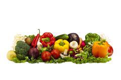 vegetable medley - stock photo