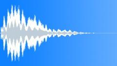 Futuristic chime in transition Sound Effect
