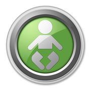 Icon, button, pictogram nursery Stock Illustration