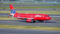 JetBlue New York Fire Department Stock Footage