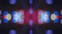 Abstract kaleidoscope background vj lights 1920x1080 Stock Footage