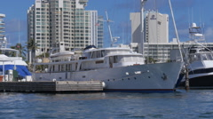 Eric Clapton - Blue Guitar luxury yacht ship Stock Footage
