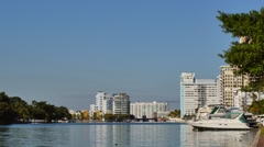 Miami Beach Intracoastal Stock Footage