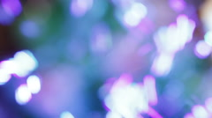 Soap bubbles bokeh Stock Footage