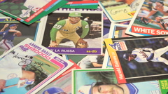 Old Baseball Cards Collection Arkistovideo